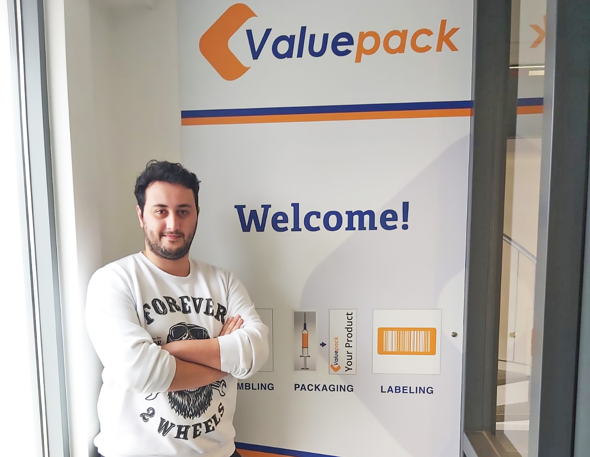 Brahim appointed as shiftleader at Valuepack Medical and Pharmaceutical Packaging