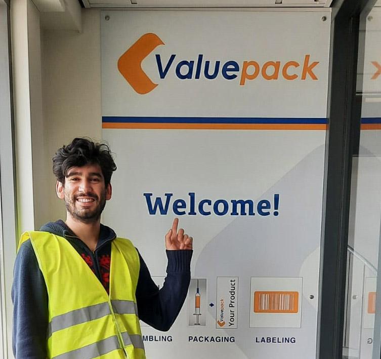 Meet Francisco: Warehouse teamleader